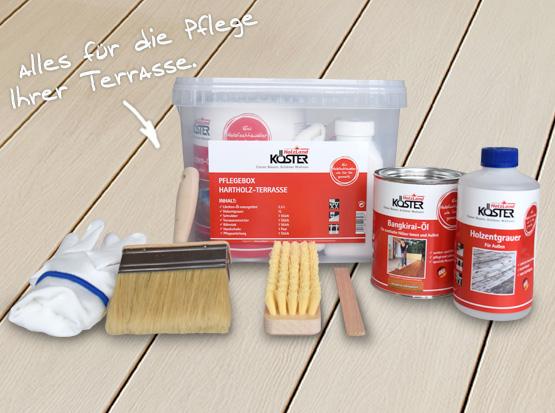 Holzland Köster, Terrassen-Pflegebox