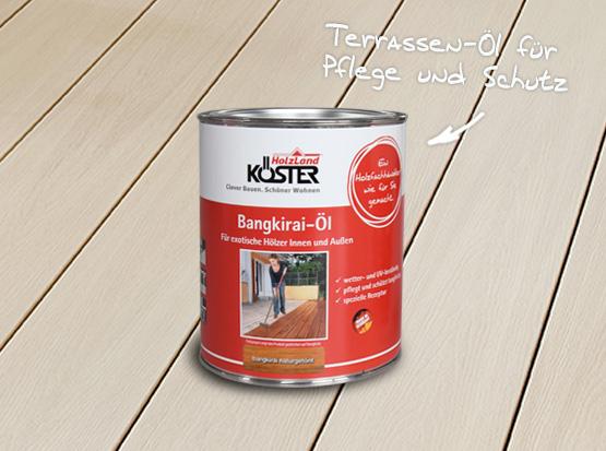 Holzland Köster, Terrassen-Öl