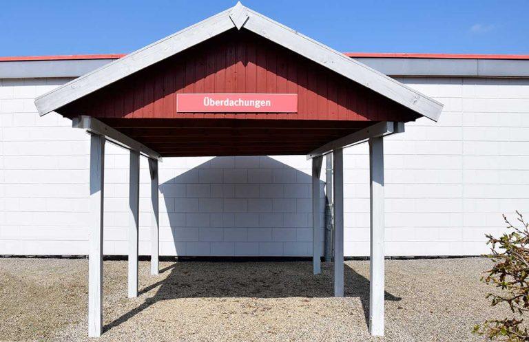 Reduziert Ausstellungsstück: Carport mit Satteldach
