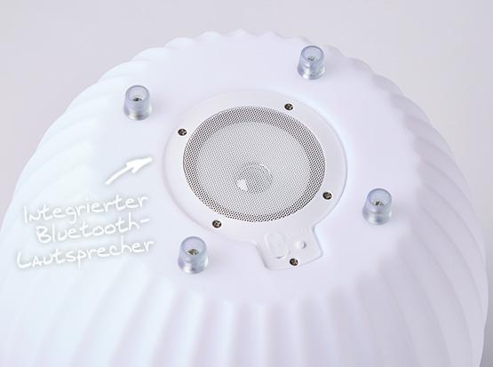 Joouly, integrierter Bluetooth Lautsprecher