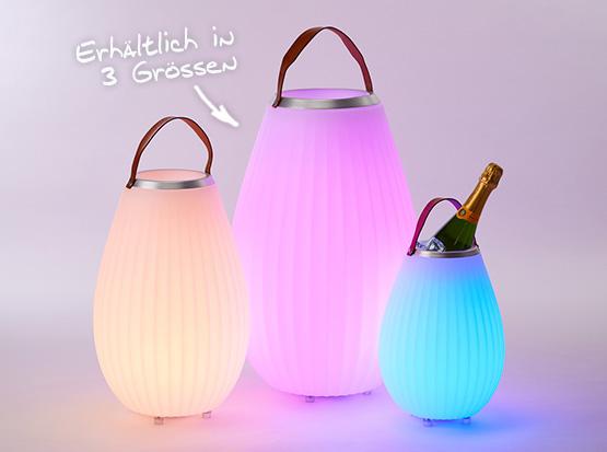 LED-Leuchte Joouly erhältlich in drei Größen