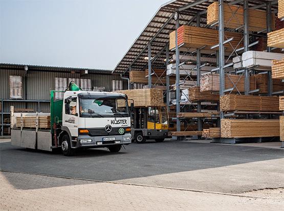 Stellenangebot LKW-Fahrer, Auslieferungsfahrer (m/w/d)