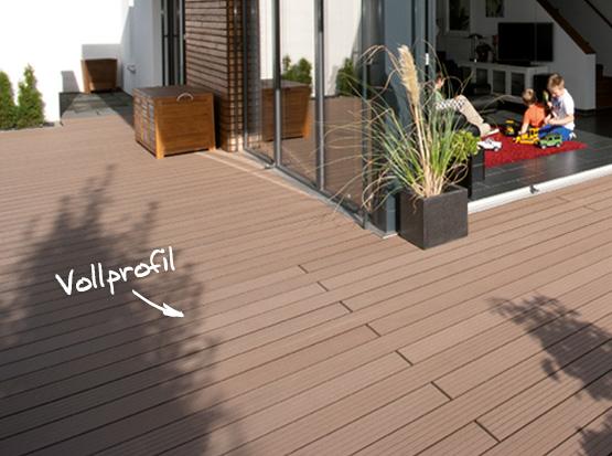 BPC-Terrasse Multi-Deck, Vollprofil
