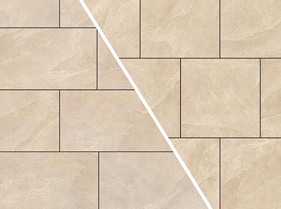 keramische Terrassenplatte Ardesia beige
