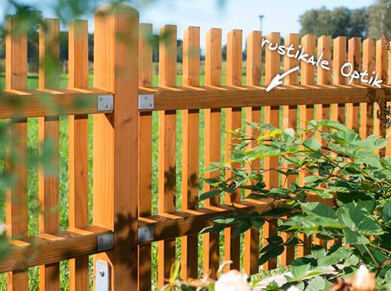 Holzzaun Altmark Douglasie