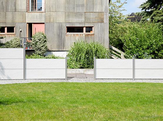 Gartenzaun System Board, Marmor