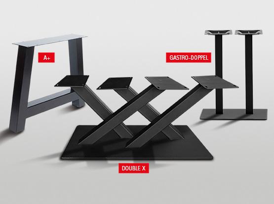 Stahl-Tischgestelle