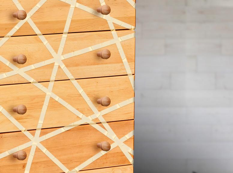 DIY: Kommode streichen abkleben