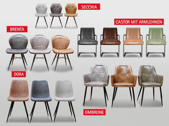 zeitlose Design-Stühle