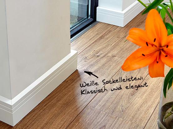 klassische Fußleisten