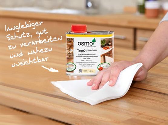 OSMO TopOil einfach zu verarbeitender Holzschutz