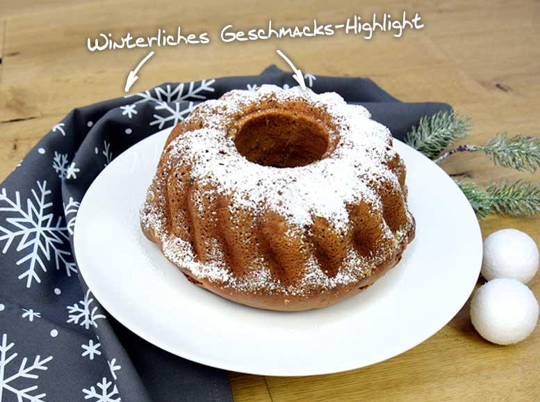 Rezept: Keksreste-Gugelhupf