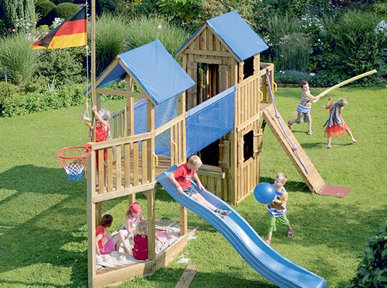 Spielturm Pirat von Brügmann Traumgarten