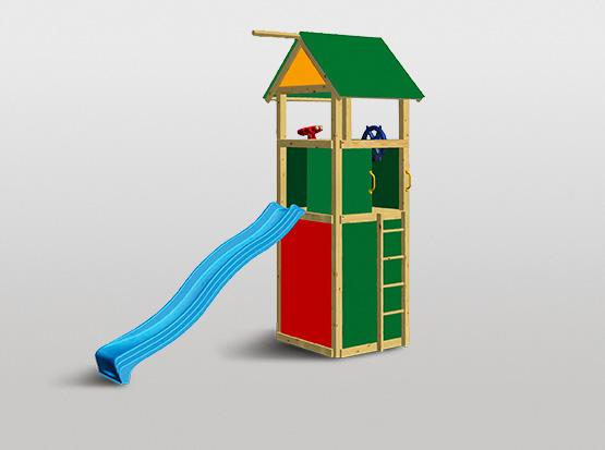 Spielturm-Set bunt