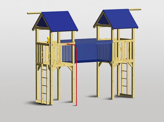 Spielturm-Set Rialto