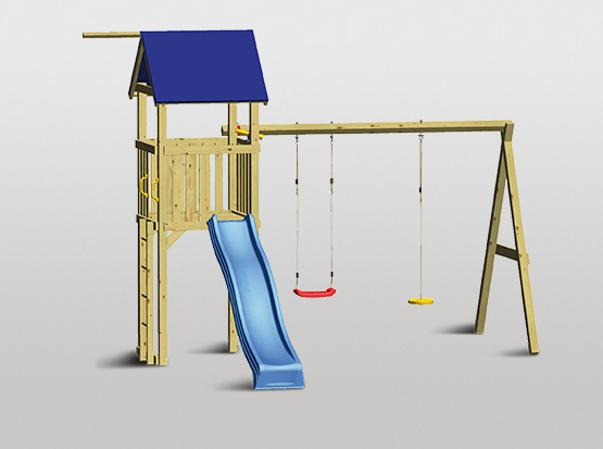 Spielturm-Set Swing