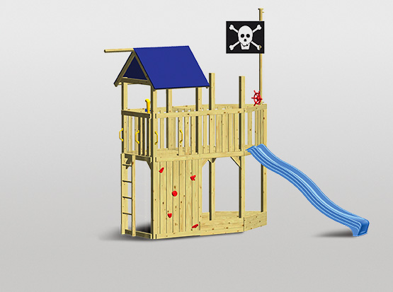 Spielturm-Set Corsar