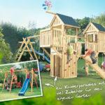 Spieletürme aus Holz