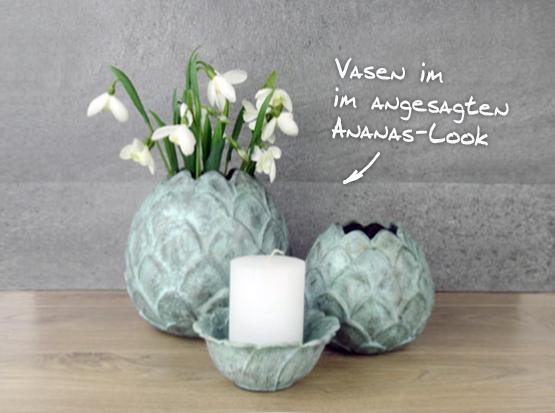 Keramik Vasen und Schalen
