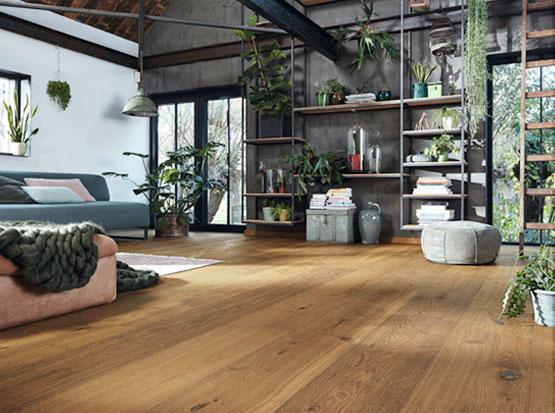 Lindura Holzboden, Eiche Dry Wood