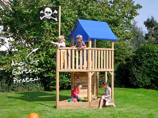 Spielturm Piratenschiff
