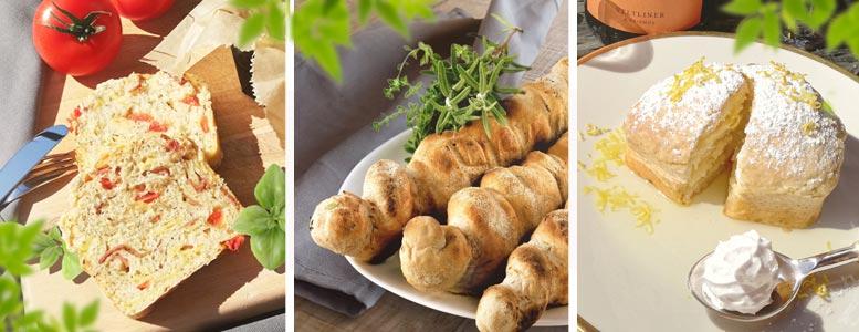 Stockbrot-Menü: Pizza und Limoncello