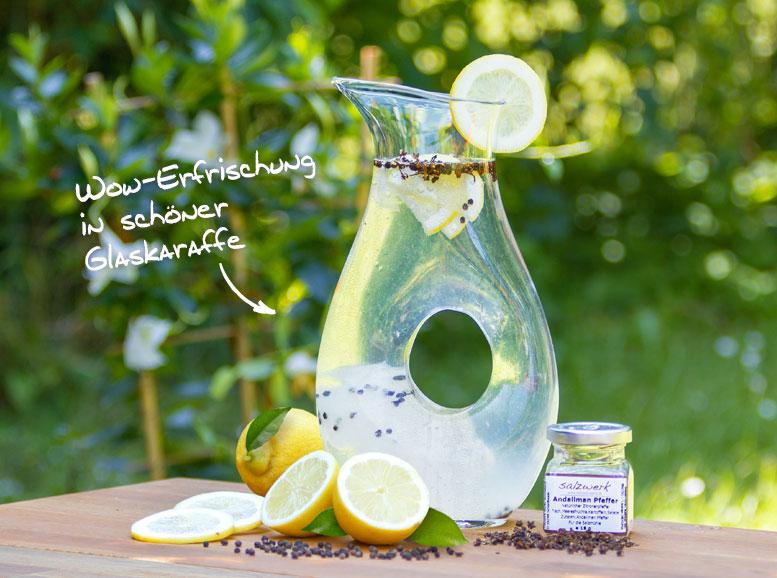 Rezept: Pfeffer-Wasser mit Andaliman Pfeffer