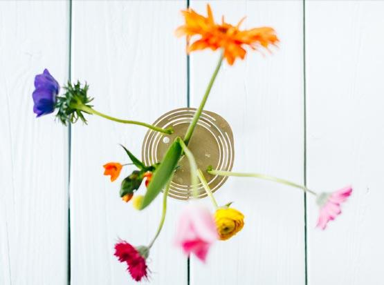 Blumenscheiben - Sternzeichen Waage