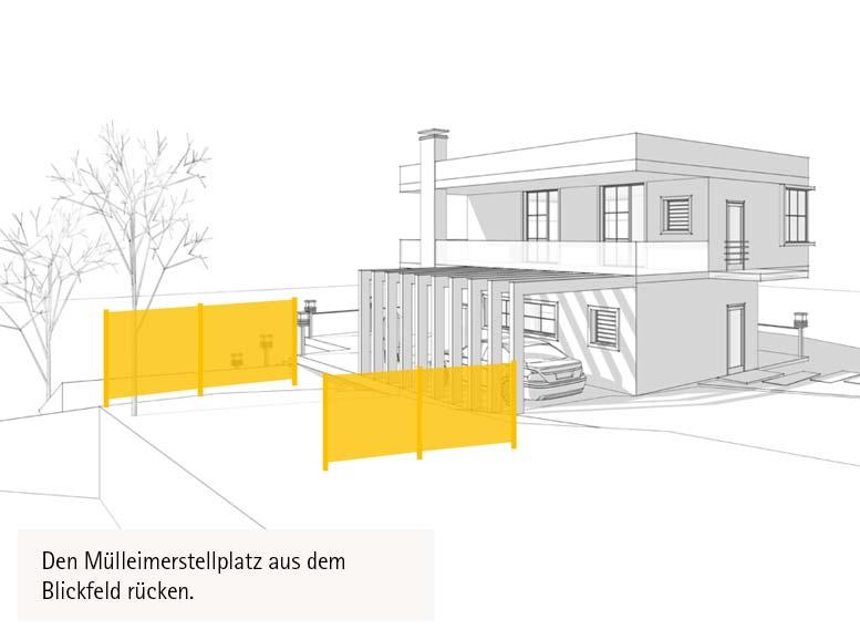 Ideen für Sichtschutz-Systeme