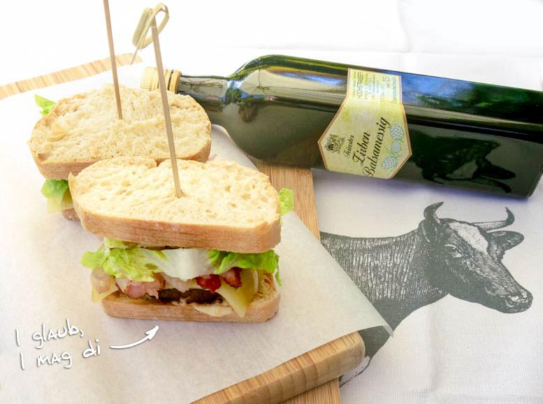 Rezept: Gaudi-Sandwich mit Zirbenkick