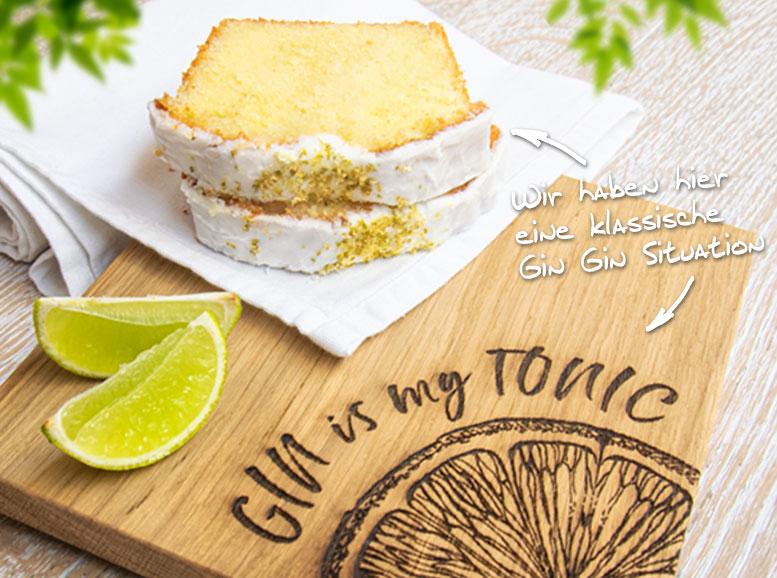 Rezept Gin Tonic-Kuchen