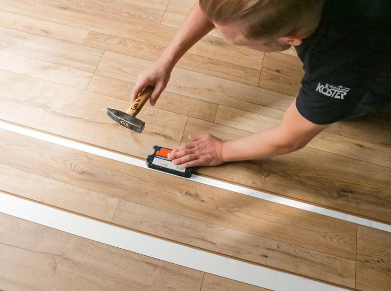 Langlebigkeit von Parkettboden, Verlegung von HolzLand Köster in Emmerke
