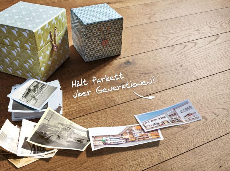 Blog: Über die Lebensdauer von Parkett, HolzLand Köster in Emmerke
