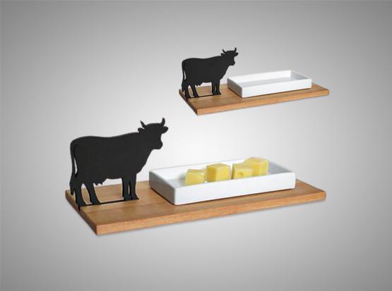 Käseschale Kuh, HolzLand Köster in Emmerke