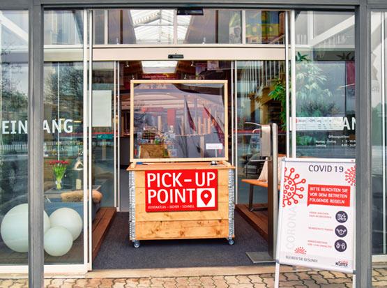 Pick-up Point, sicher und kontaklos einkaufen, HolzLand Köster in Emmerke