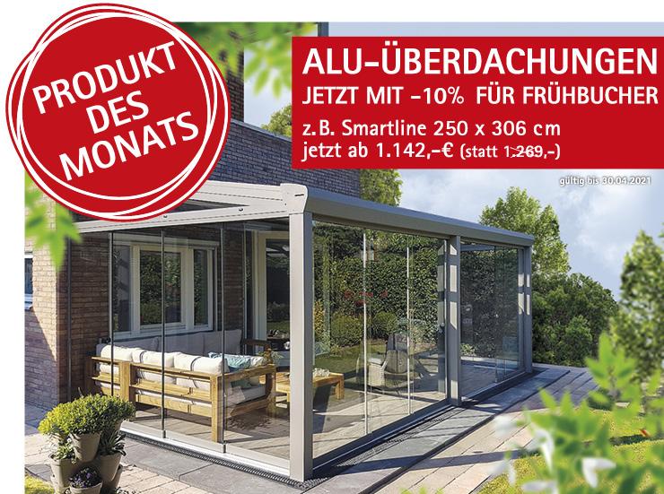 Angebot Alu-Überdachungen, HolzLand Köster in Emmerke bei Hildesheim