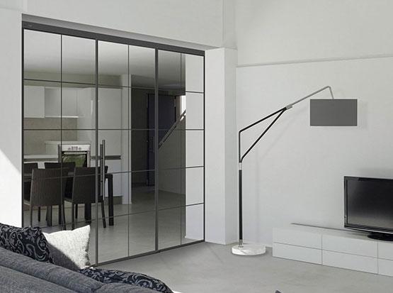 Holzland Köster: Tür linesPlus Schiebetür Tvin 2.0