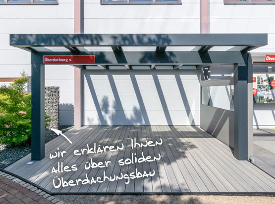 Holzland Outdoor Überdachungs-Ausstellung