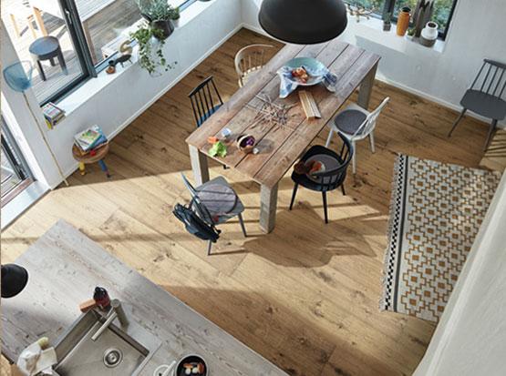 Lindura Holzboden, Eiche milchkaffee, HolzLand Köster in Emmerke