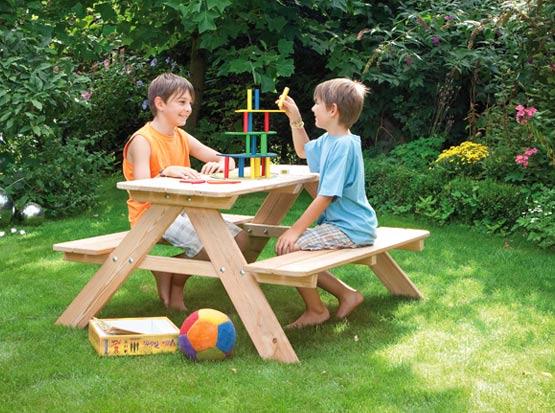Holzbank für Kinder, HolzLand Köster in Emmerke