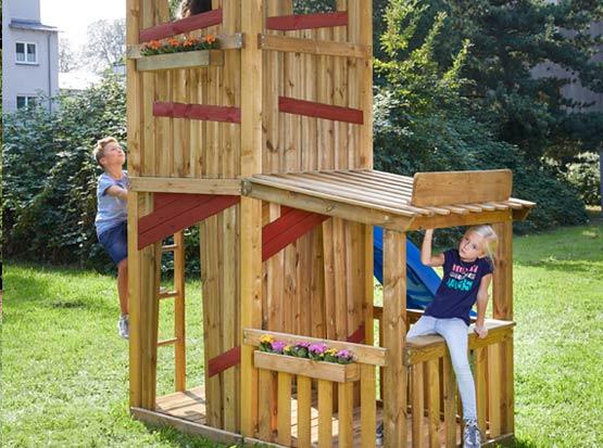 Garten Spielturm mit Kaufladen, HolzLand Köster in Emmerke