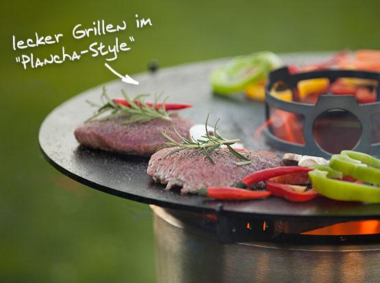 Feuerhand Pyron Plate zum Grillen, Holzland Köster in Emmerke