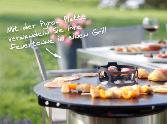 Grillaufsatz für Feuertonne Pyron, Holzland Köster in Emmerke