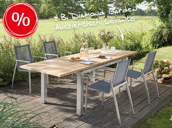 Marken-Gartenmöbel reduziert, HolzLand Köster in Emmerke