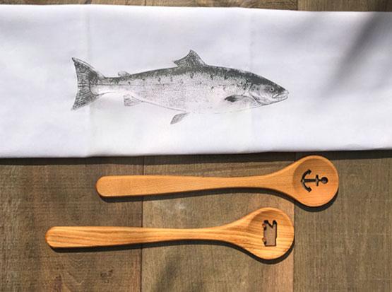 Geschirrtuch Fisch, HolzLand Köster in Emmerke