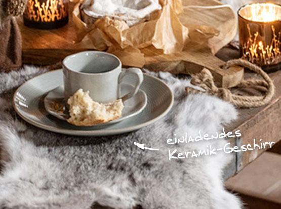 Keramik-Geschirr, HolzLand Köster in Emmerke