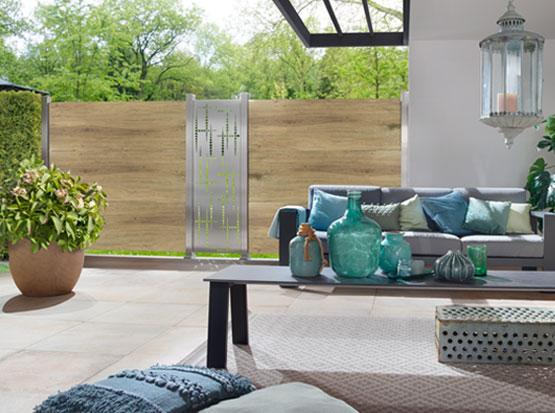 Sichtschutz aus Keramik, HolzLand Köster in Emmerke