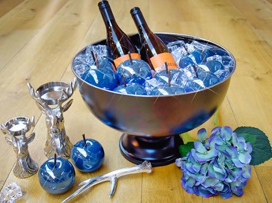 Hirschleuchter, Champagnerkühler, Dekoäpfel, HolzLand Köster in Emmerke