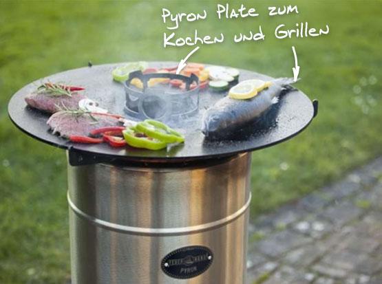 Grillplatte Pyron Plate, HolzLand Köster in Emmerke